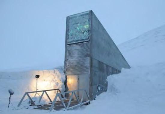 Lo Svalbard Global Seed Vault (Deposito Sotterraneo Globale dei Semi)