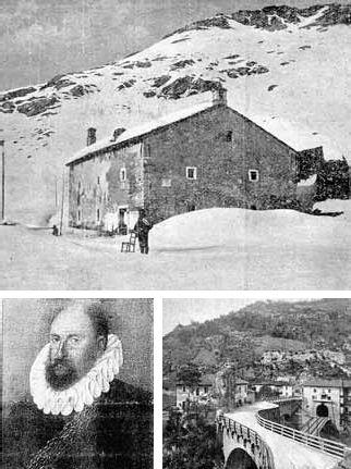 La casa cantoniera della strada Priula al Passo San Marco; i ponti di Sedrina e il ritratto del colonnello grigionese Ercole Salis