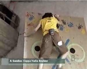 Coppa Italia Boulder a Gandino