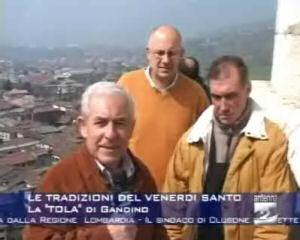 """Le tradizioni del venerdì santo: la """"tola"""" di Gandino"""