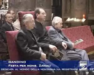 Festa per Mons. Zanoli