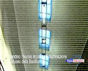 Nuovo impianto di illuminazione al Museo della Basilica