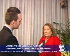 L'intento di Luciana Radici: l'Ospedale-sollievo in Val Gandino