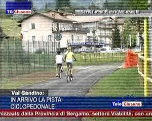 In arrivo la pista ciclopedonale in Valgandino
