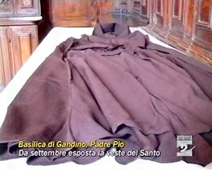 Da settembre esposta la reliquia di San Padre Pio