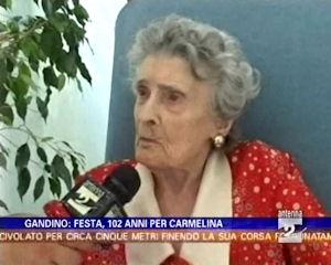 Festa per i 102 anni di Carmelina