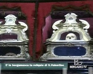 A Gandino una reliquia di San Valentino