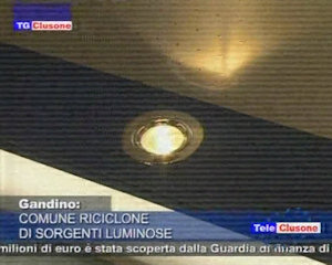 Comune riciclone di sorgenti luminose