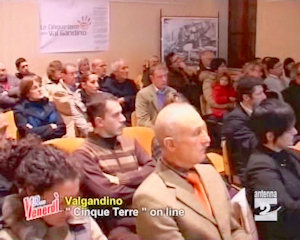 Presentazione del sito web del commercio diffuso della Valgandino