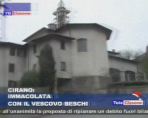 Cirano celebra l'Immacolata con il Vescovo