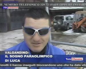 Il sogno olimpico di Luca