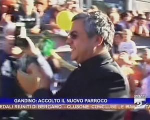 I festeggiamenti per il nuovo parroco Don Innocente Chiodi