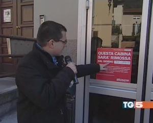Salva la cabina telefonica di Barzizza