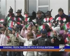 Festa tricolore alla scuola materna