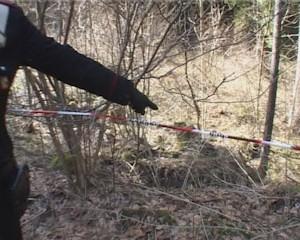 Trovato il cadavere di un uomo nei boschi di Valpiana