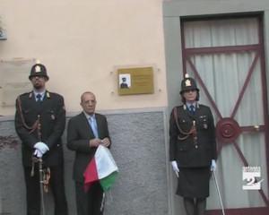 Dedicazione della sala civica al vigile Alessando Ferrari