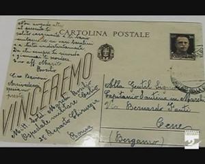 Una cartolina spedita nel 1943 e recapitata quasi 70 anni dopo