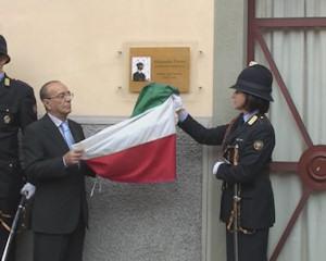 La sala mostre dedicata al vigile Alessandro Ferrari