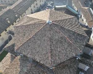 A nuovo la copertura della cupola della Basilica