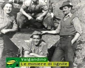 Le miniere di lignite della Valgandino