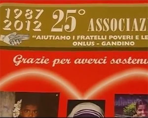 25 anni per l'Associazione poveri e lebbrosi