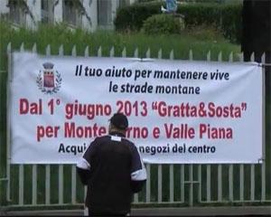Monte Farno e Valle Piana: scatta il gratta e sosta