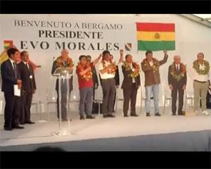 Gandino rafforza il legame con la Bolivia