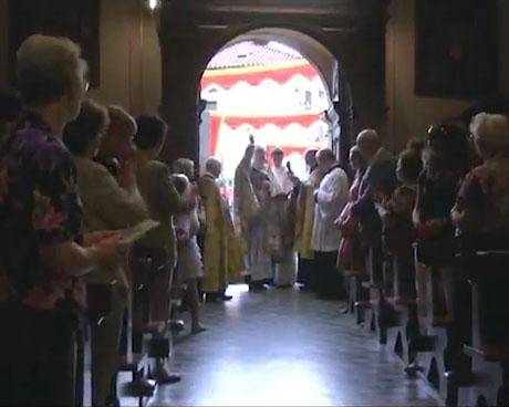 Barzizza, benedetti i restauri della chiesa