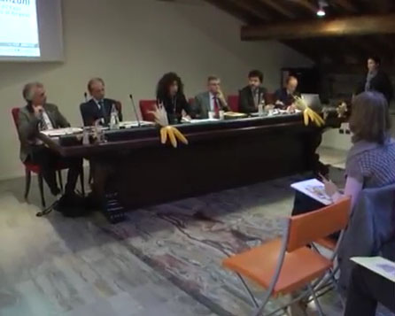 Conferenza di presentazione progetto valorizzazione mais spinato di Gandino