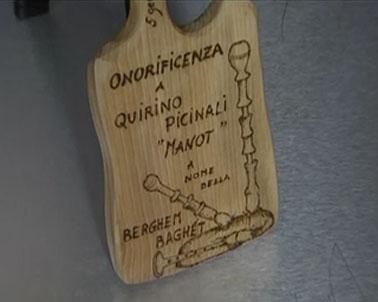 Cornamuse in memoria di Manòt